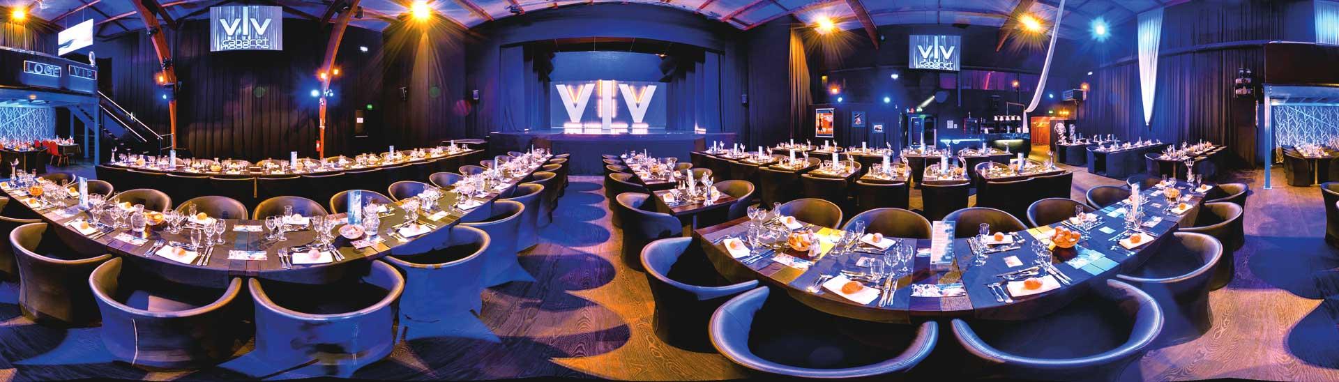 Salle de réception, diner-spectacle, Voulez-Vous Orléans