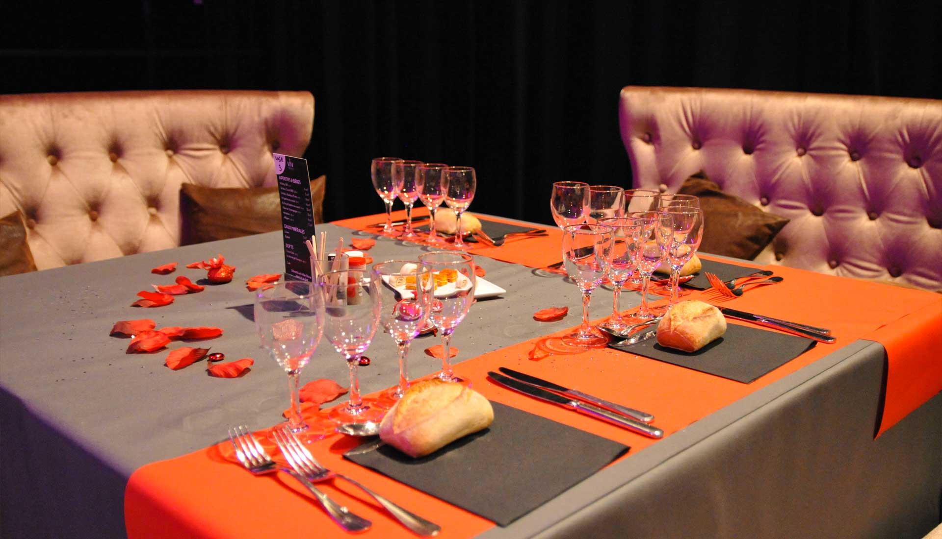 Loge VIP, repas, restauration, réception, Voulez-Vous Grand Lyon