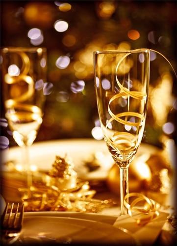 Saint Sylvestre, coupe de champagne, décorations, Voulez-Vous