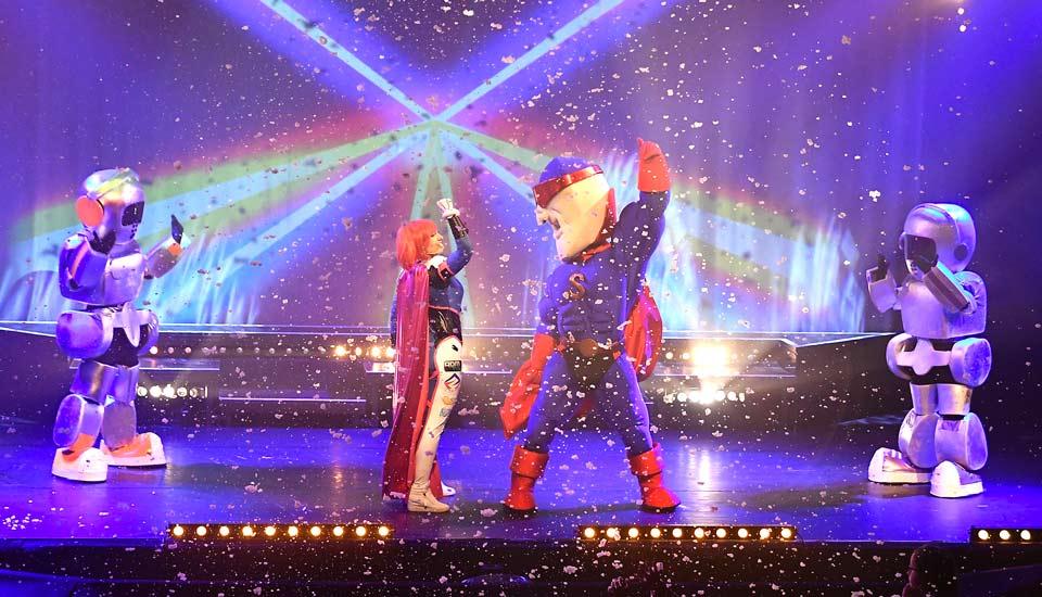 Spectacle Super Satodon, les héros