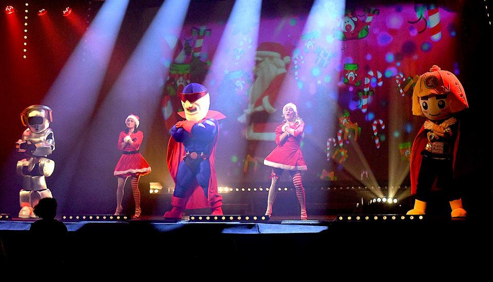 Spectacle Super Satodon, show de Noël