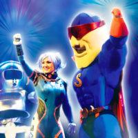 Spectacle pour enfant Super Satodon, héros, Madison, comédie musicale, Voulez-Vous